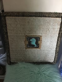 Sea horse picture frame  Laval, H7K 3X8