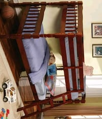 [SPECIAL] Emma Cherry Twin over Twin Bunk Bed   9076 MYCO Houston, 77036