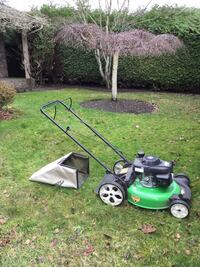 mower used only about 10 times. Paid $450