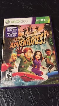 Kinect Adventures! Xbox 360 Kinect gamecase Guelph, N1G 2Y8