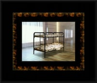 Twin bunkbed frame with mattress McLean