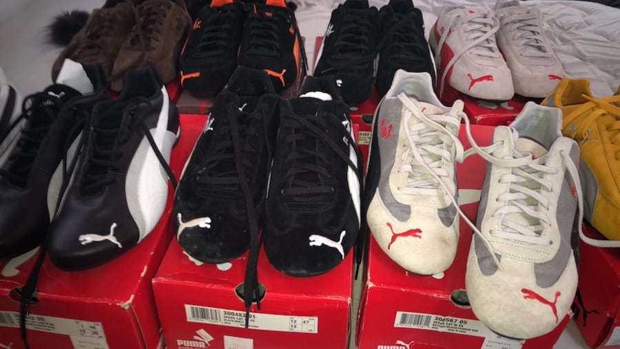 Used Puma sneakers. Rare, discontinued new in box for sale ...