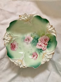 Antique RS Prussia bowl Pink roses Mission Viejo, 92692
