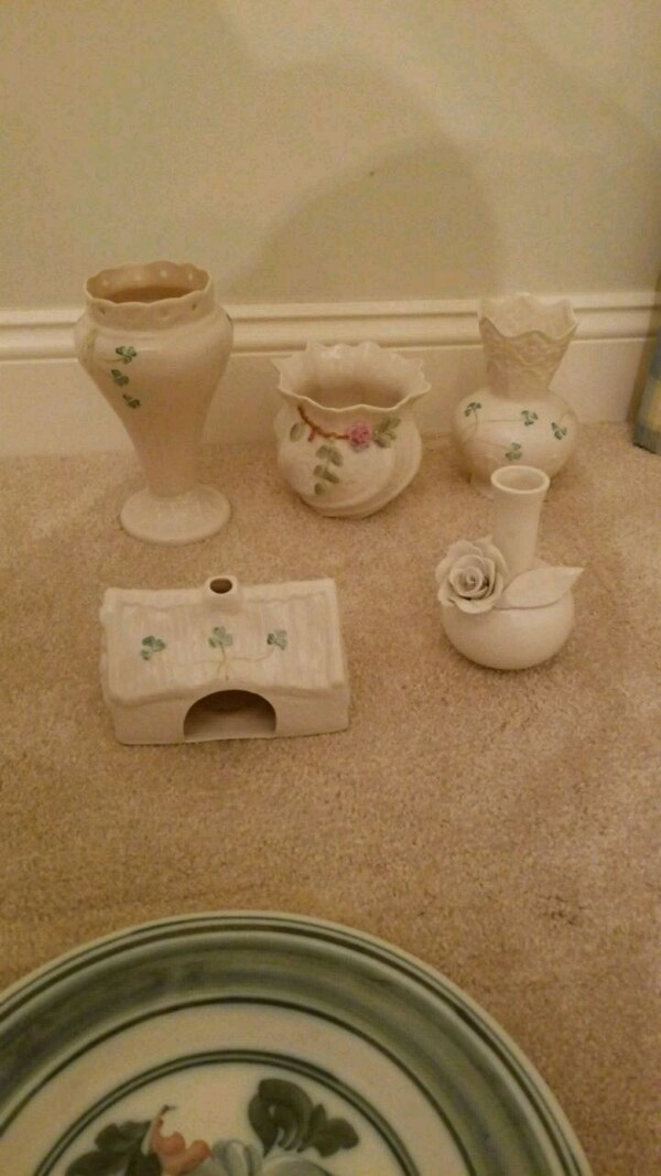 Belleek China in pristine condition