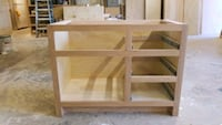 "Natural finished white oak vanity 43""wide x 21.25  Mobile, 36608"