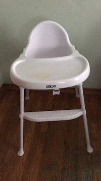 baby's white and gray high chair Salem, 01970