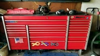 Snap on tool box with tools creeper and car ramps Frankfort, 60423