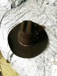 Cowboy hat made by Bailey Loveland, 80538