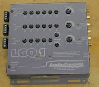 AudioControl LCQ-1 6 Channel Output Converter Sound Processor Equalizer PRE OWNED. TESTED. IN A GOOD WORKING ORDER.  Baltimore, 21205