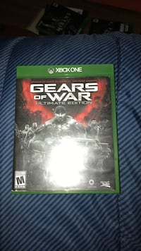 Gears of War Ultimate Edition Xbox One game case