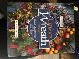 How to make wreath - book (hard cover)