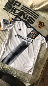 White and black adidas vodafone jersey Los Angeles, 91601