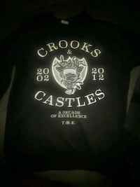 Crooks and castles size m  Burnaby, V3J 1R4