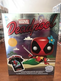 Funko POP Deadpool Mermaid & XL T-Shirt Box Set! Las Vegas, 89117