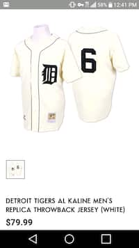 aec68a1c3a7 men's white Detroit Tigers jersey screenshot