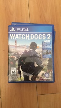Watch dogs 2 ps4 game  Surrey, V3T 0E3