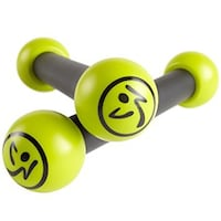 Zumba 1 pound green-and-gray dumbbells Orem, 84057