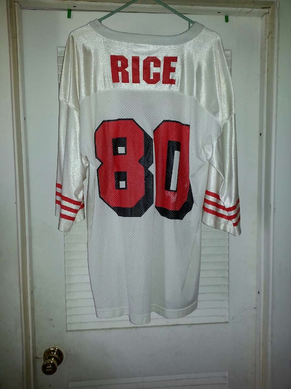 72ebc90fd Used Old school 49ers Jerry rice jersey for sale in Pittsburg - letgo