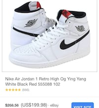 "Air Jordan 1 Retro High OG ""Yin Yang"" Delta, V4E"