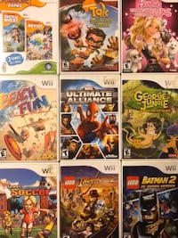 Wii Games Check Description for Pricing