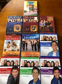 Friends, Everbody loves Raymond , Two and half Men and Family Guy DVDs Rolling Meadows, 60008
