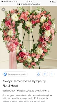 pink and yellow petaled flower wreath screenshot Cypress, 90630