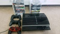 Playstation 3 with 28 games.   Whitby, L1N 0G2