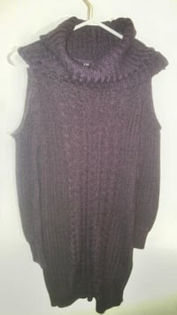 COLD SHOULDER SWEATER DRESS REGINA