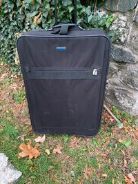 Large suitcase black