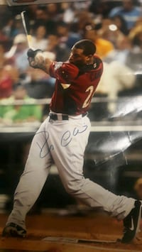 Robinson Cano autographed picture