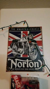 Norton Motorcycle sign Omaha, 68105