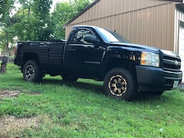 2008 Chevrolet Silverado 1500 Work Truck 4X4 Regular Cab LWB