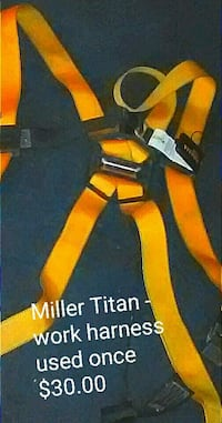 orange and black harness Memphis, 38108