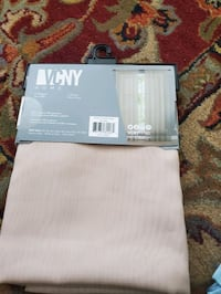 VCNY home Infinity Sheer Rod Pocket 108-Inch Window Curtain Panel NEW