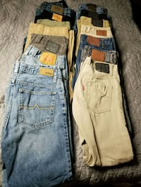 BOYS SIZE 14 JEANS, MOST NEW Springfield, 22153