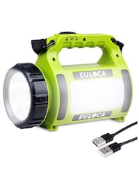 Flashlight multi-use usb charger lantern NIB rechargeable batteries included Suffolk, 23435