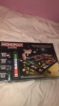 Monopoly Empire Limited Edition with gold collector pieces Hamilton, L9A 2J2
