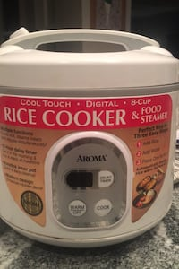 Rice Cooker and Food Steamer 8 Cup