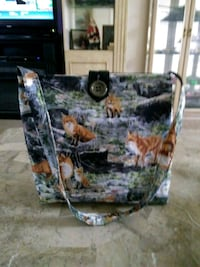Handmade fox print bag Franklin, 28734