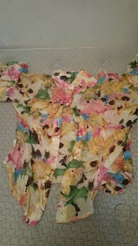 pink, green, and blue floral sleeveless dress Morristown, 37814
