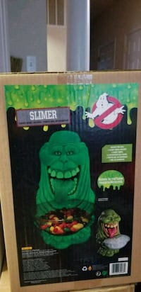 Brand New  Ghostbusters Slimer  Candy Bowl Bunker Hill, 25413