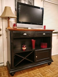 Like new solid wood buffet with 2 drawers in great Annandale, 22003