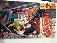Vintage spider man comic in excellent condition. No rips. Toronto, M6L 2P1