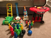 toddler's assorted plastic toys Calgary, T1Y