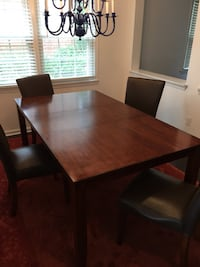 Dining Room Table with four chairs Alexandria, 22305