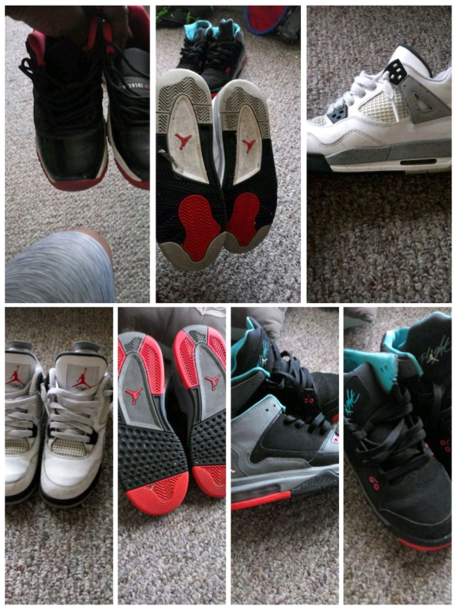 different jordan shoes