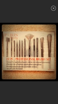 Brand new paris tools 12 pc professional brush set box McLean, 22102