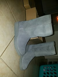 TREADLITE by UGG water resistant grey suede boots Lodi