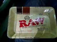 brown RAw Rolling papers box