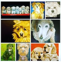 Personalized gifts Pet Portraits Hackberry